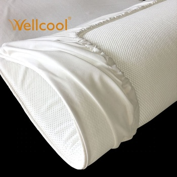 3d knitted mesh fabric airflow baby crib mattress pad