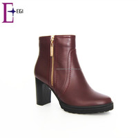 women turkish shoes ladies comfort chunky heel ankle boots shoes