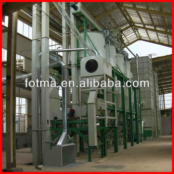 30-150T/D parboiled rice machines