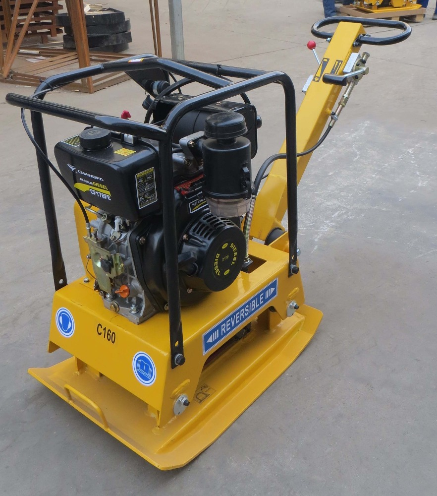 Cheap electric vibratory plate compactor prices/vibration plate tamping machine