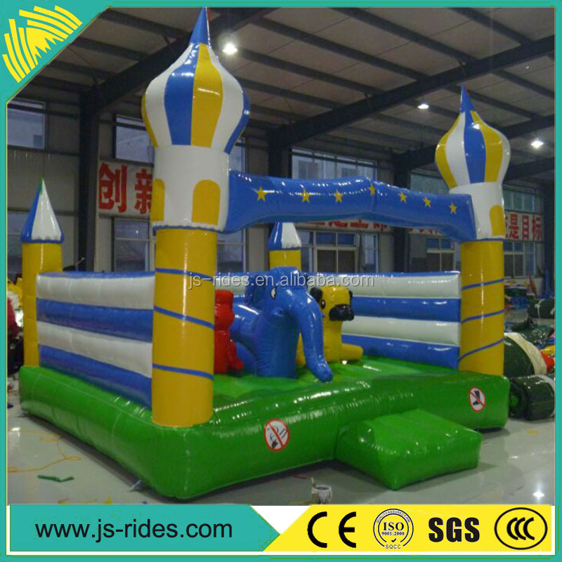 Factory price Minions inflatable jumper/commercial bouncy castles for kids
