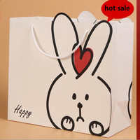 Hot sale customized paper shopping bag to