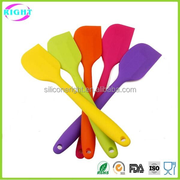 High quality silicone spatula/silicone butter knife