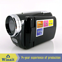 Gift Type Mini Video Camera with 2 Pcs LED Flash Light 4X Digital Zoom