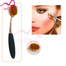 Oval Makeup Brush new products korea style wholesale chinese red makeup brush