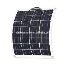 New arrival good quality 50W monocrystalline flexible panel solar china photovoltaic panel price