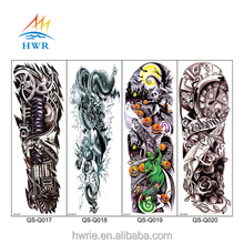 Waterproof Bulk Size Large Temporary Tattoos Stickers Fake Paste Leg Arm Tattoo Sticker Sleeve On The Body Art For Men Women