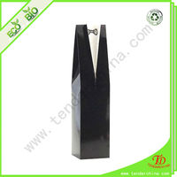 1 Bottle Wine Bag For Gift Packing Paper Wine Bottle Bag