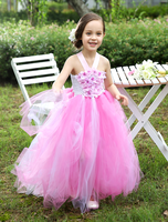 2015 wholesale girls tutu dress, lovely pink tutu dress for baby girl, new baby frock tulle prom tutu dress