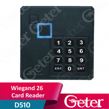 125KHZ FRID ID card reader and 13.56MHZ IC card with keypad