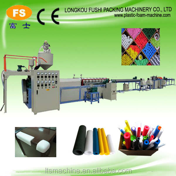 Professional PE Foam Extruder Profile Production Line