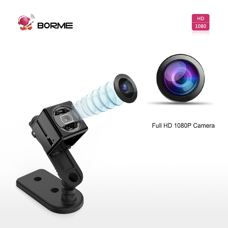 Borme cheap magnetic mini camera s7, portable hand finger mini camera 1080p work with 32gb memory card
