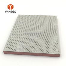 fireproof micro perf HPL wooden perforated acoustic panel