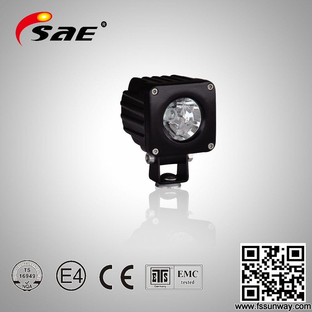 <strong>10</strong> <strong>W</strong> Heavy Duty Led Work Light,Led Pod Light 10w Offroad Led Work Light