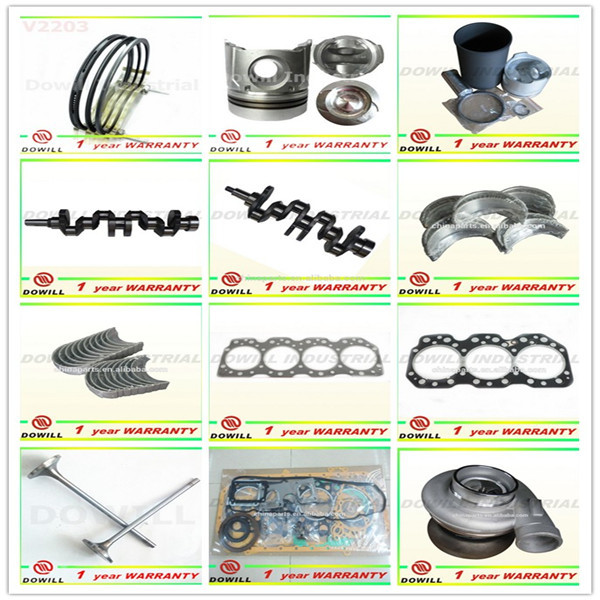manufacturer engine parts 6CT rebuild kit