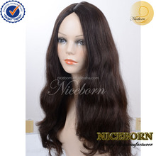 Wholesale 100% unprocessed Silk top high quality Finest European virgin hair Jewish wig Kosher wig