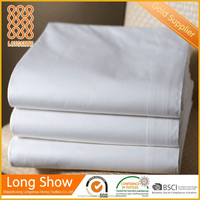 T200 thread count 60%cotton 40% polyester bed sheets for hotels used hotel bed sheets wholesale hotel bedding also for hospital