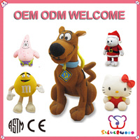 ISO 9001 Factory supply customized toy like angry birds stuffed animals