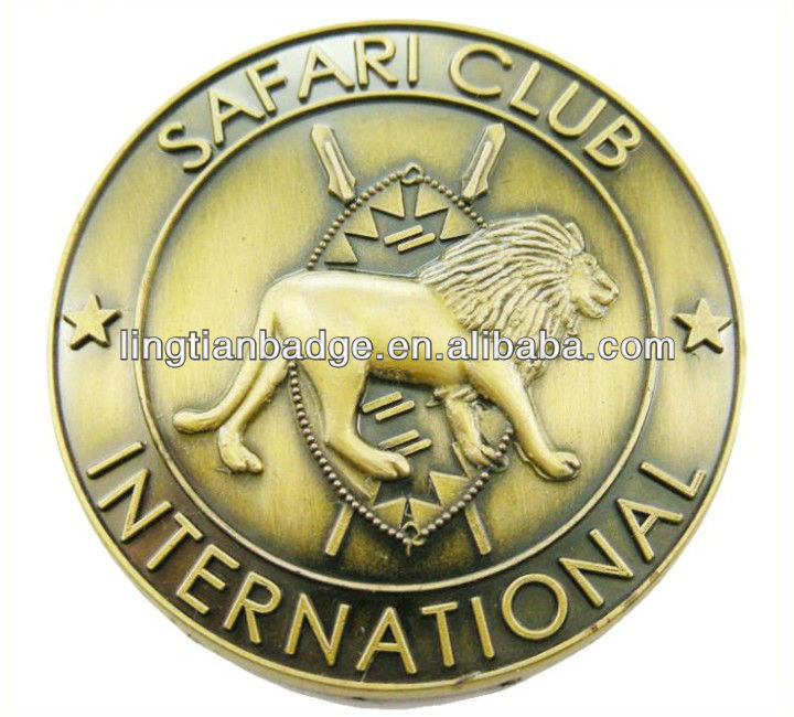 Personalized Custom Logo Metal Emblem For Hat Pin,Cloth, Wallet
