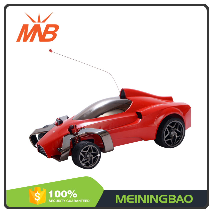 Newest fashionable 1:14 red color supercar radio controlled car for kids