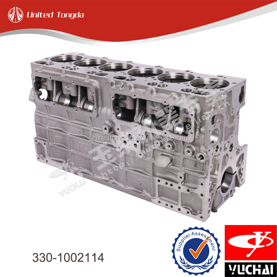 Yuchai engine cylinder block 330-1002114* for YC6108