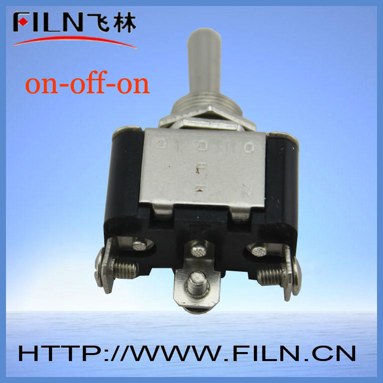 3 pin screw terminal mini dpdt toggle switches