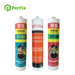 Fish Tank Acid Silicone Sealant With Good Adhesive