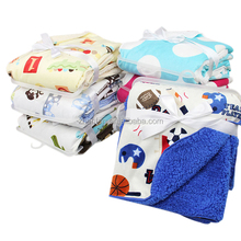 super soft thick double fleece flannel children baby blanket