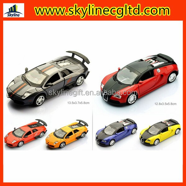 Classic Car Metal Pull back Diecast Car Toys