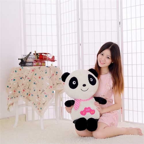 super soft family wholesale plush love panda surprise family exporter