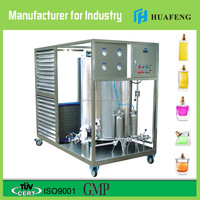 car perfume making machine with freezing,mixing,filtering