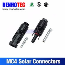 2.5 4 6mm PV solar cable mc4 connecters for solar panel