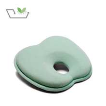 Head Positioner Kids Baby Nursing Head Pillow Organic Memory Foam Flat Head Shaping Baby Pillow