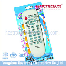 RM-168M TV/VCD/DVD/LCD/LED/satellite universal receiver remote control for Thailand