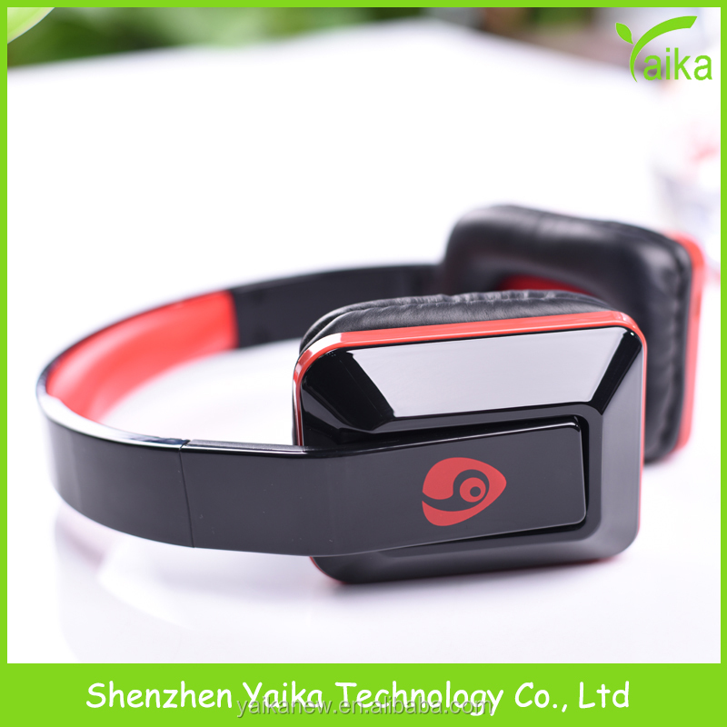 Yaika foldable headphone with mic swimming waterproof bluetooth headphone