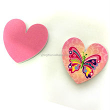 Butterfly heart shape nail file for baby
