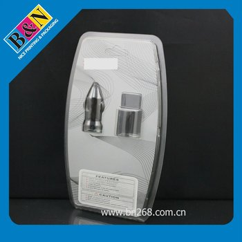 UV Printing PVC Blister Box Packaging For Car Charger
