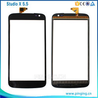Mobile phone spare touch screen digitizer replacement for blu studio x plus d770U touch screen