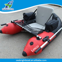 China Small engine Individual Inflatable Fishing Cartoon Boat For Fiji