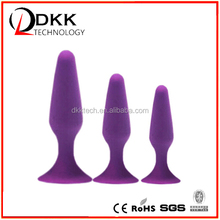 XM005 China Factory Top quality 100% medical grade silicone waterproof RoHS CE healthy anal toys adult sex toy for man