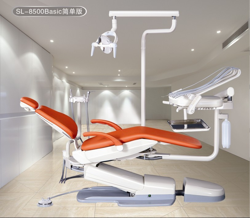 Hot Sale SL-8500 ISO CE Approved American type top mounted Dental Chair without Box