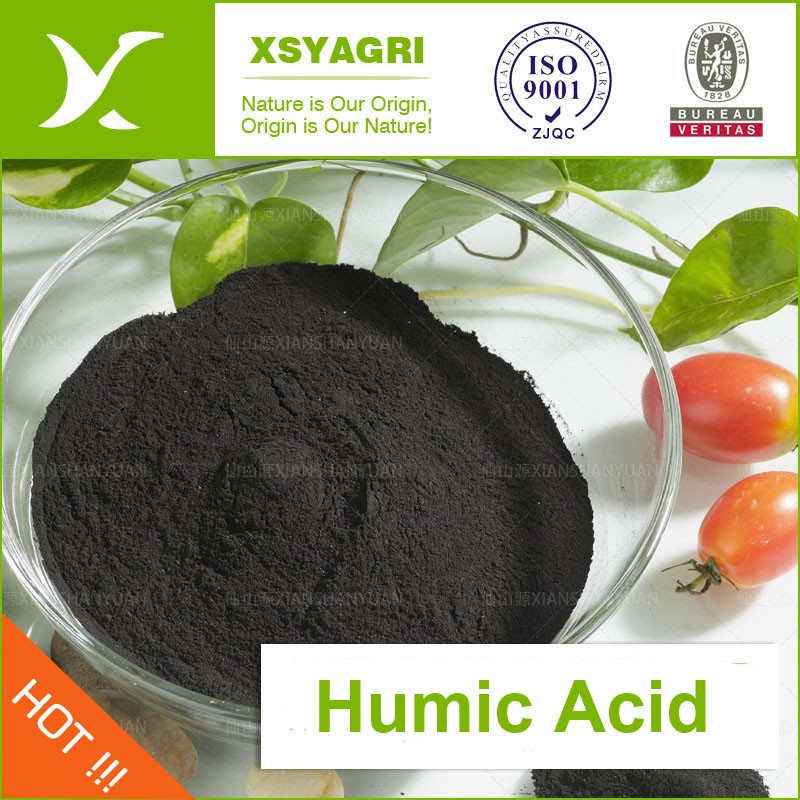 Natural Organic Fertilizer Humic Acid Powder from Leonardite for Agriculture