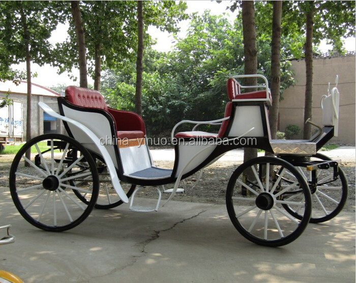 Yizhinuo 2 rows sightseeing horse drawn carriage nsom cab