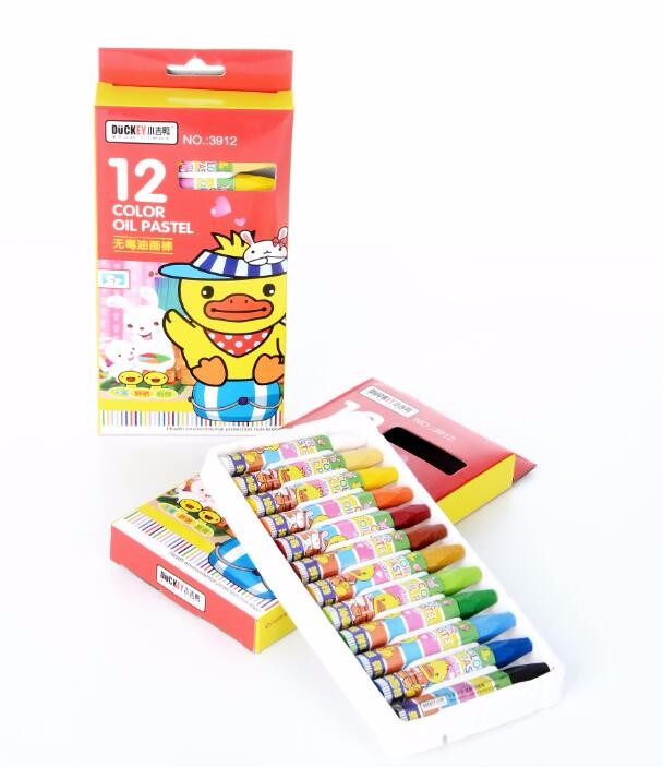 High quality Hot promotional Various colors oil pastel wax crayon