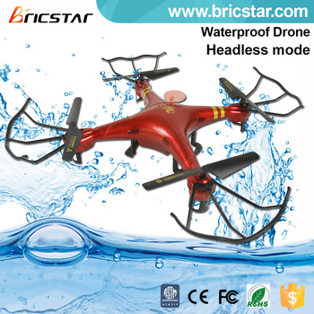 Toys new 2015/16 2.4G waterproof rc quadcopter intruder ufo with lights