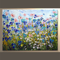 Popular Wall Decor Flower Art Picture For Indoor Decor