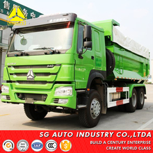 luxury Big power used efficient howo dump truck