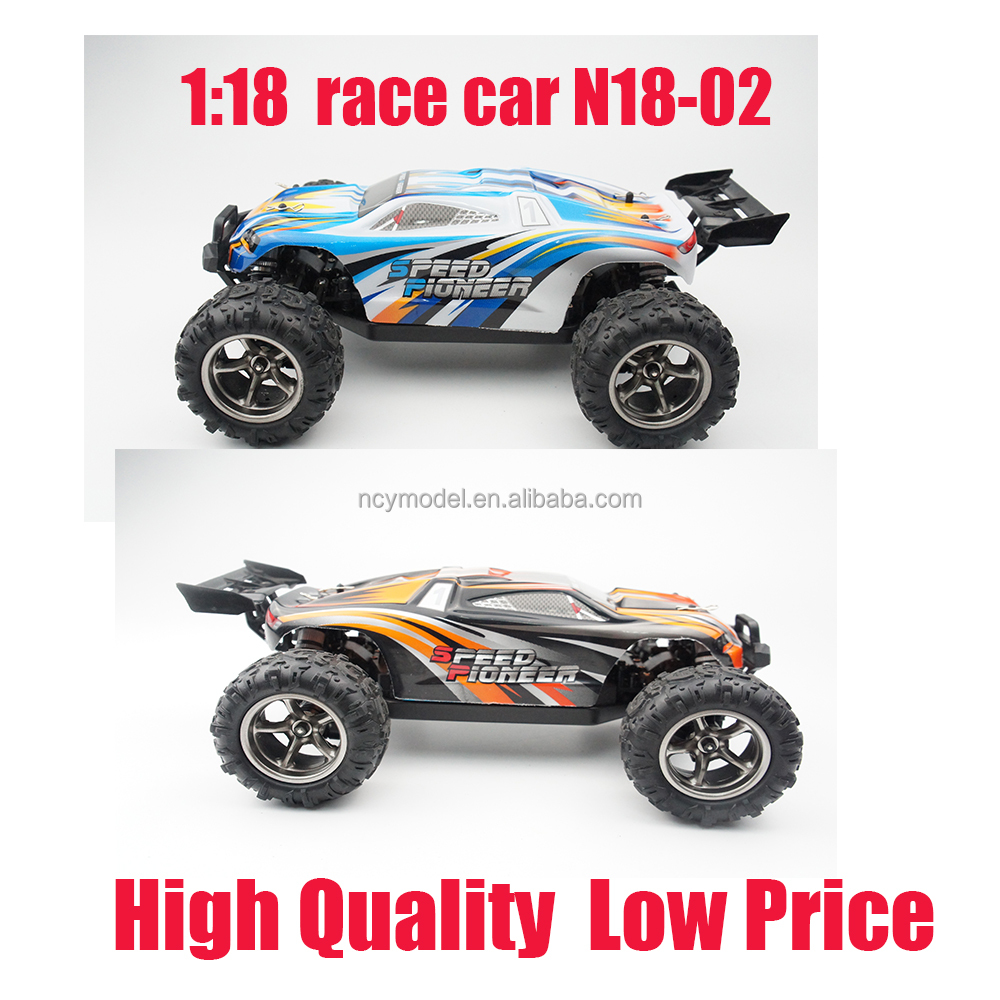 Waterproof RC Car 1:18 race car Off Road 4WD Mini Remote Control car radio control toy for Kids