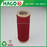 ne20s/1 Nm34/1 polyester textile waste cotton open end yarn for hosiery