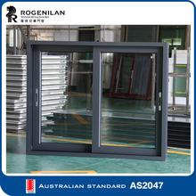 ROGENILAN (with AS2047 certification) bronze anodized aluminum bronze color sliding windows